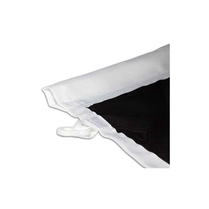 drapeau pour mat 150 x 400 cm la boite flyers. Black Bedroom Furniture Sets. Home Design Ideas